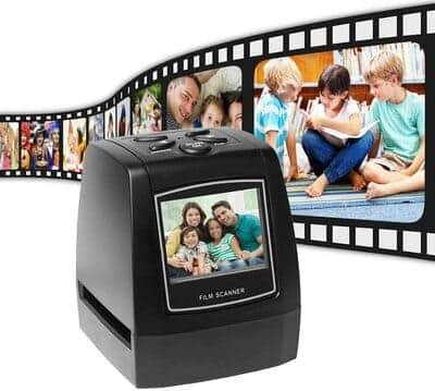 Escáner de negativos portatil Aibecy 35mm y 135 mm