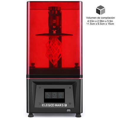 ELEGOO Mars Pro MSLA Impresora 3D de Fotocurado