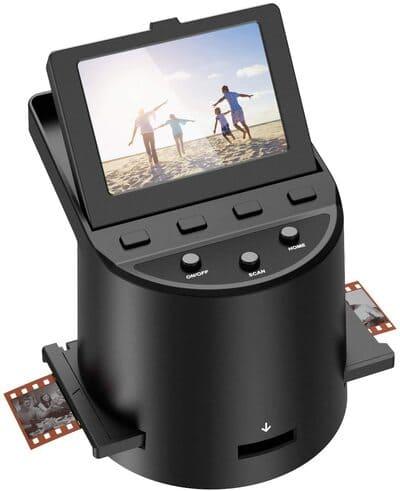 """Escáner de película Escáner de Alta resolución con 3,5"""" LCD"""