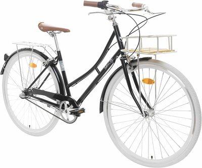 Fabric bicicleta de paseo