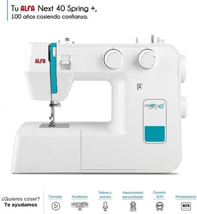Máquina de coser Alfa NEXT 40 Spring