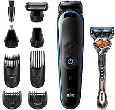 Máquina recortadora de barba Braun Recortadora MGK5280