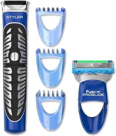 Recortadora Barba, Maquinilla y Perfiladora Gillette Styler Multiusos