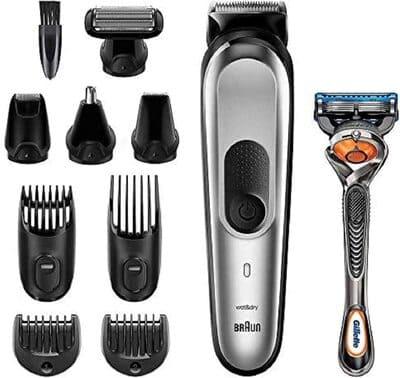 Recortadora y perfiladora de barba Braun MGK7020