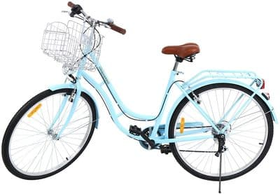 Ridgeyard bicicleta de paseo azul