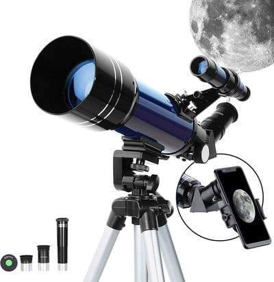 Telescopio Astronómico Ajustable ESSLNB 70mm