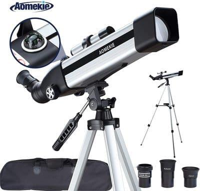 Telescopio Astronómico Para Principiantes AOMEKIE AO2010