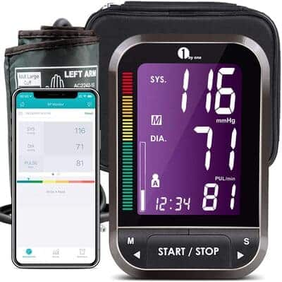 Tensiometro de brazo Bluetooth 1byone