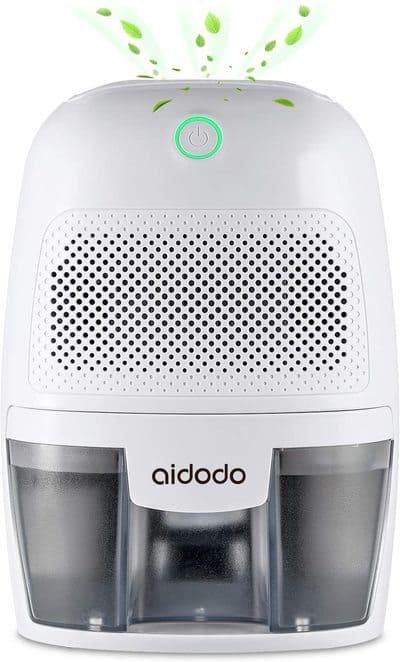 Aidodo Deshumidificador eléctrico Portátil 600ml