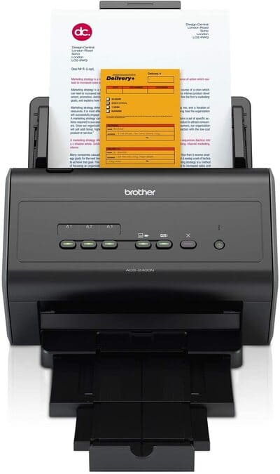 Escaner de documentos Brother ADS2400N de Alta Velocidad
