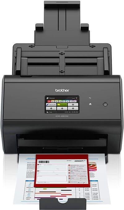 Escaner de documentos Brother ADS2800W