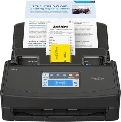 Escaner de documentos ScanSnap iX1500 Edición Negra