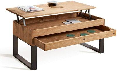 Mesa de centro de madera elevable Hogar24