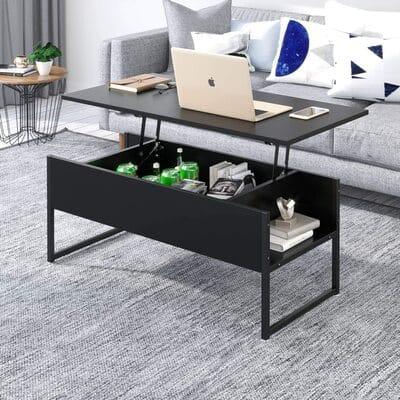 Mesa de centro elevable estilo moderno Joolihome Living