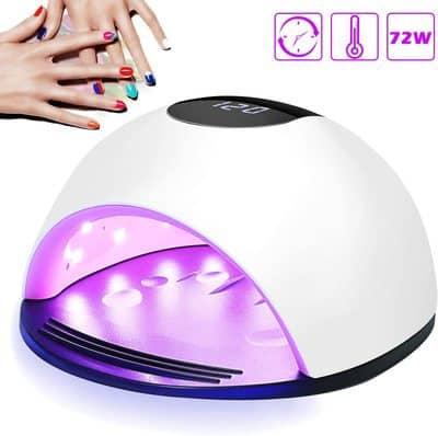 Secador uñas con pantalla LCD Nivlan