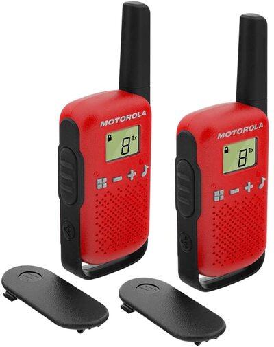 Walkie Talkie Motorola T42 RED