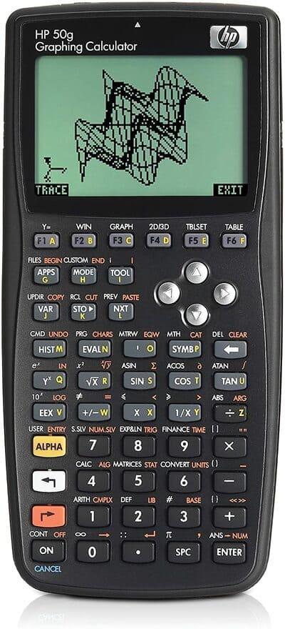 Calculadora gráfica HP HP50G