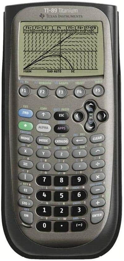 Calculadora gráfica Texas Instruments TI 89 Titanium
