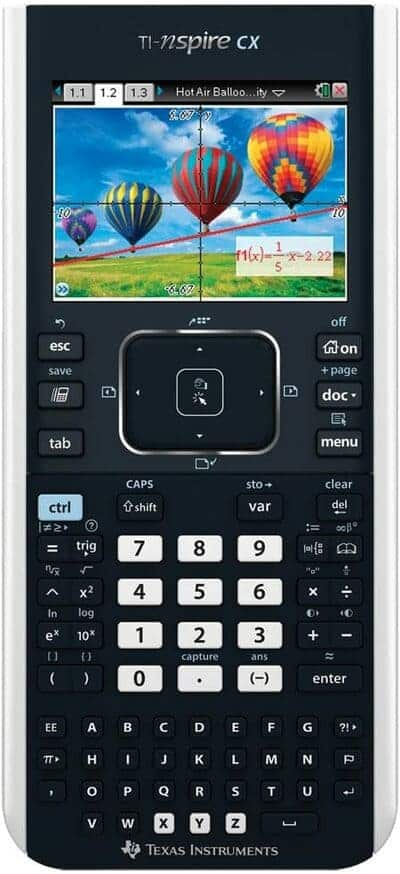 Calculadora gráfica Texas Instruments TI Nspire CX