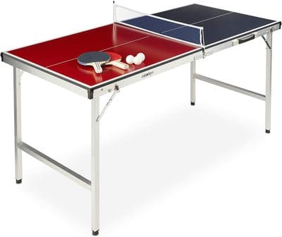 Mesa Ping Pong Plegable de Relaxdays