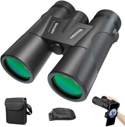 Prismáticos profesionales binoculares 12x42 ATKJ
