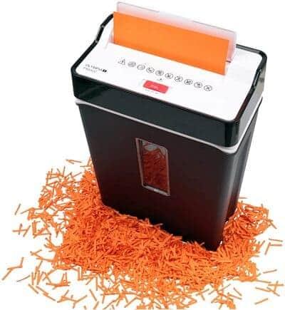 Trituradora de papel Olympia PS 53 CC