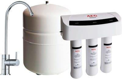 Equipo de osmosis inversa para la filtración de agua potable AEG