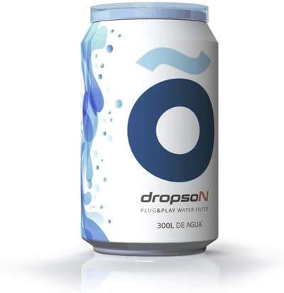 Filtro de agua para grifo Dropson Lata Filtrante