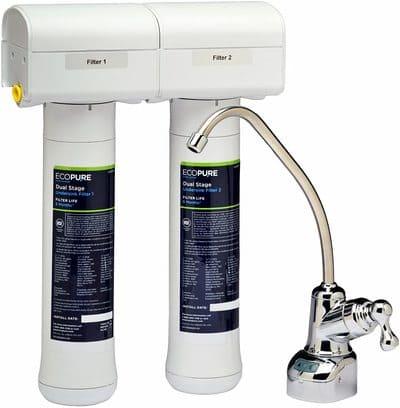Sistema de filtración de agua Ecopure ECOP20