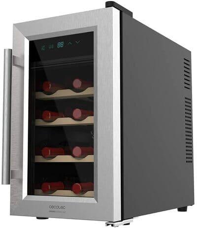 Vinoteca para 8 botellas Cecotec Grand Sommelier 1200 CoolWood