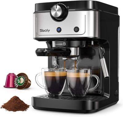 Cafetera Espresso Sboly