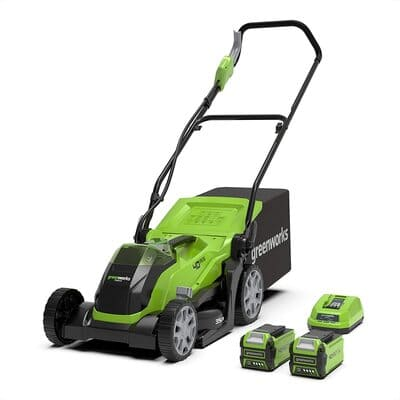 Cortacésped con batería Greenworks Tools G40LM35K2X