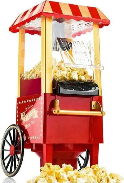 Máquina de palomitas palomitero vintage Gadgy