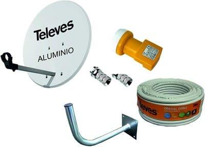 Antena parabólica Televes para Astra 63cm