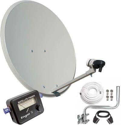 Engel AN0432E Antena parabólica metálica de 80 cm