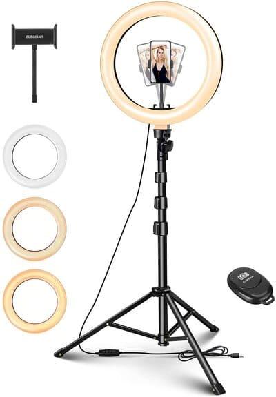 Aro de luz con mando a distancia Elegiant EGL-06