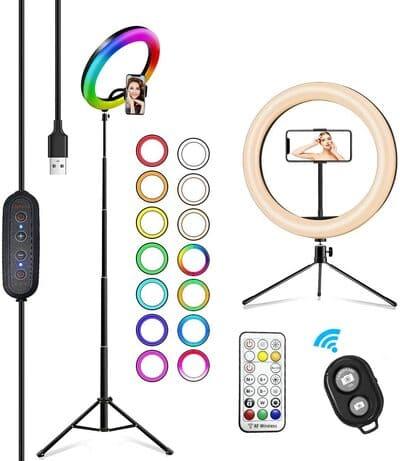 Aro de luz para móvil 2NLF