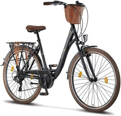 "Bicicleta Paseo Holandesa Licorne Bike 28"""