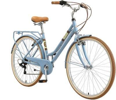 """Bikestar Bicicleta de ciudad con Canasta. Rueda de 28"""""""