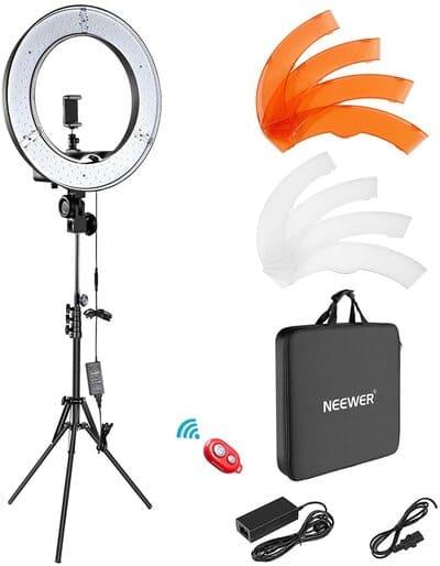 Kit de iluminación aro de luz Neewer