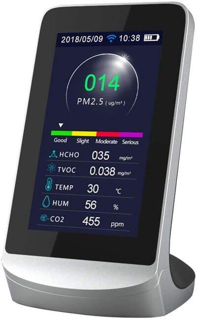 Medidor de CO2 Cimoto WIFI multifuncional medidor de gases