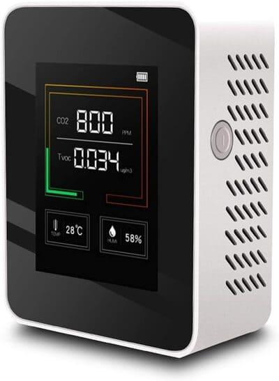 Medidor de CO2 Migaven K03 LED portátil multiuso