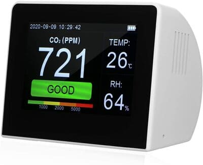 Medidor de monóxido de carbono Kedelak multifuncional