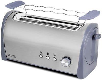 Cecotec Tostadora Acero Steel&Toast