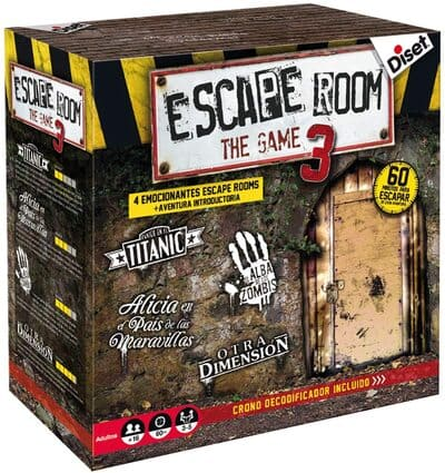 Escape Room The Game 3 Diset