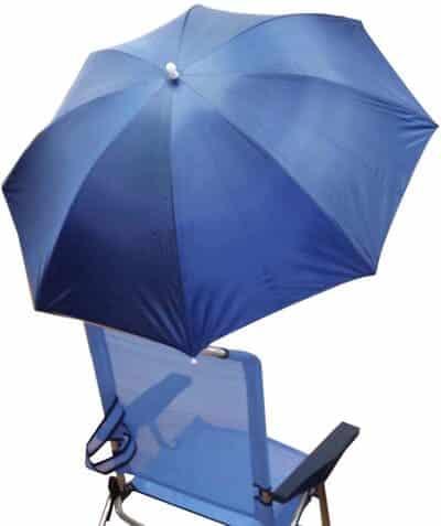 Sombrilla de playa para silla