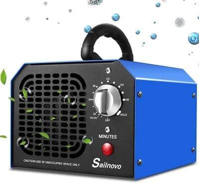 Ozonizador de aire profesional con temporizador Sailnovo