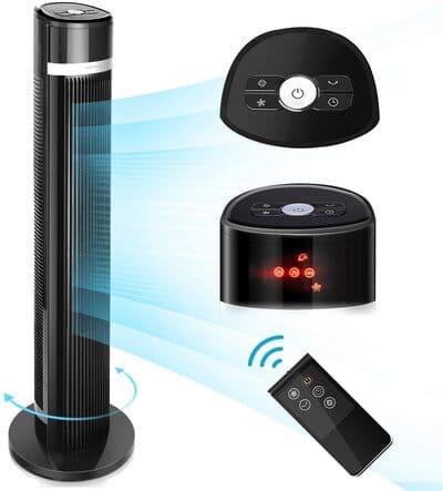 Ventilador de torre digital sin aspas Aigostar Ross