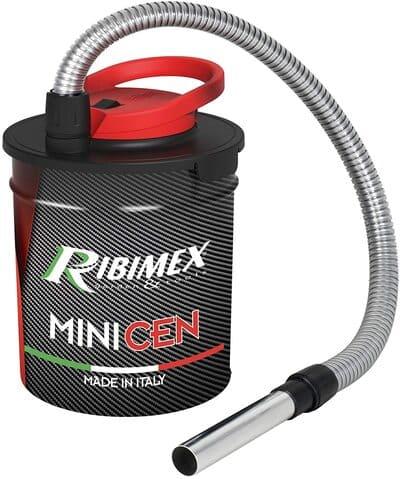 Bidón aspirador de cenizas para estufas, chimeneas y barbacoas RIBIMEX