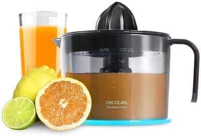 Exprimidor de naranjas Cecotec ZitrusEasy Adjust Black